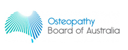 osteopathy board of australia